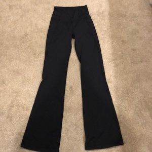 Black Lulu Lemon Pants